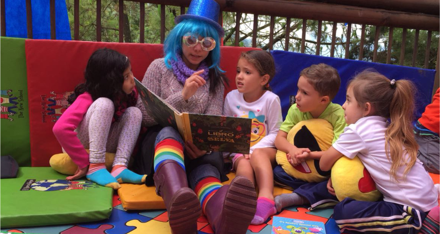 lectura, leer, niños, The New School